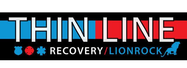 Lionrock Thin Line First Responder progam logo